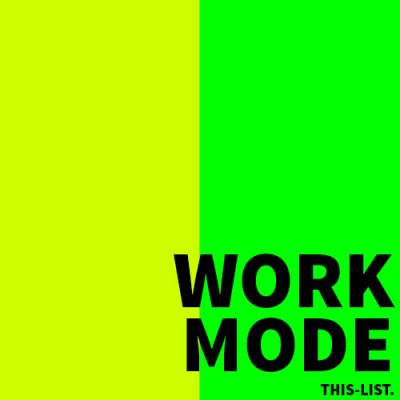 WORK MODE SPOTIFY PLAYLIST