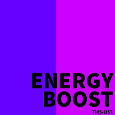 ENERGY BOOST SPOTIFY PLAYLIST